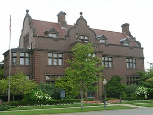 National Register of Historic Places listings in LaPorte County, Indiana - Image: Barker Mansion P7190107