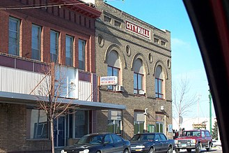 Barnesville, Minnesota - Downtown Barnesville