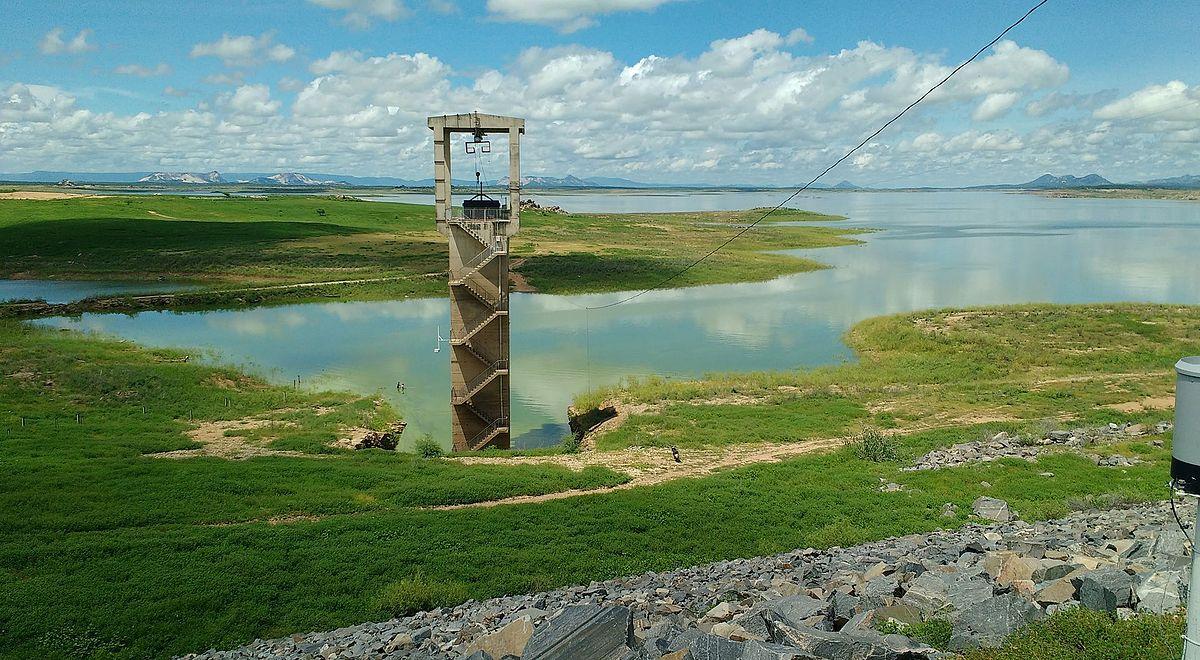 Resultado de imagem para barragem Armando Ribeiro Gonçalves