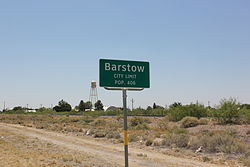 Barstow city limits