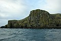 Basalt cliffs, South face of Eilean Creagach - geograph.org.uk - 1446699.jpg