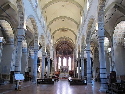 Basilica dei servi, Siena, interiore