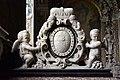 Basilika Seckau, Habsburger Mausoleum, Wappen Karls II. auf Kenotaph.jpg