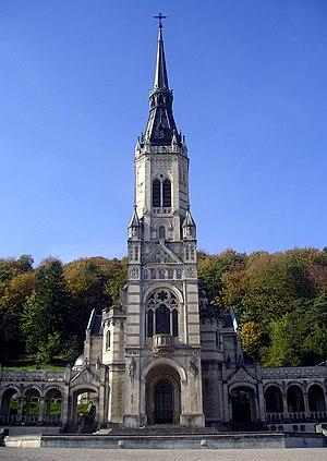 Domrémy-la-Pucelle - Image: Basilique du Bois Chênu