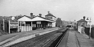Bassaleg - Bassaleg Junction railway station in 1962