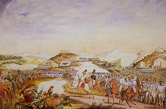 Battle of Tolentino - The Battle of Tolentino by Vincenzo Milizia
