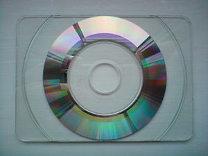 Business card - Business card size CD.