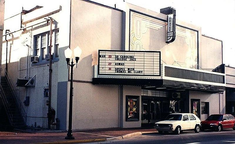 File:Beacham Theatre facade in 1991.jpg