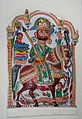 Bearded knight with lance, folk art, Bharatiya Lok Kala Museum, Udaipur, India.jpg
