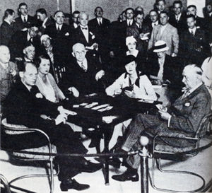History of contract bridge - The Beasley-Culbertson match of 1933