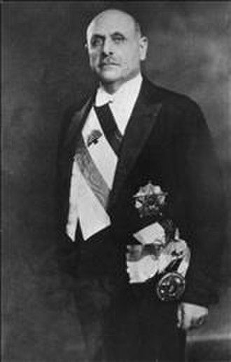 Bechara El Khoury - Bechara El Khoury's Presidential portrait, 1943.