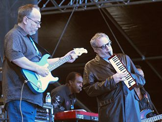 Walter Becker - Becker and Donald Fagen at Pori Jazz, 2007