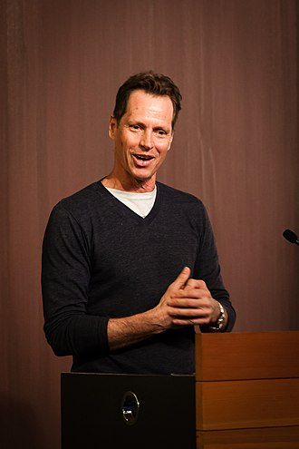 Frank Beddor - Frank Beddor, speaking at Arizona State University in 2016
