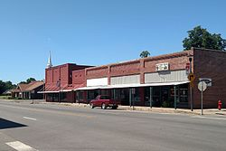 Streetside along N. Main Street in downtown Beebe