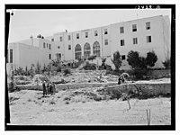 Beirut, Junior Girls' College, residence bldg fr(om) north & N.E. LOC matpc.12786.jpg