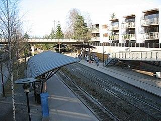 Bekkestua (station) metro station in Oslo, Norway