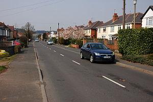 Blakedown - Image: Belbroughton Road, Blakedown