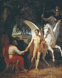 Belerofonte wikipedia la enciclopedia libre for En la mitologia griega la reina de las amazonas