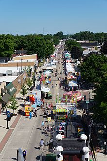 Belleville National Strawberry Festival - Main Street from Ferris Wheel.jpg