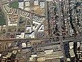 Belmont, California aerial view, February 2018.JPG