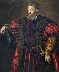 Porträt Alfonso d'Este
