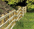 Bendy Fence - geograph.org.uk - 884886.jpg