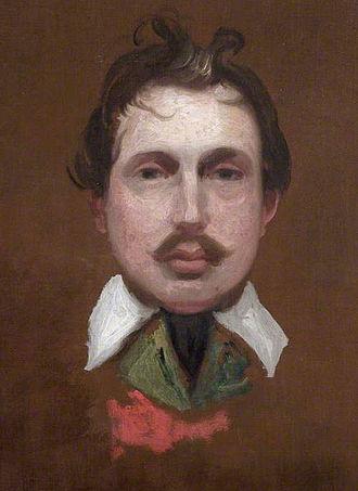 Benjamin Barker (painter) - Self portrait