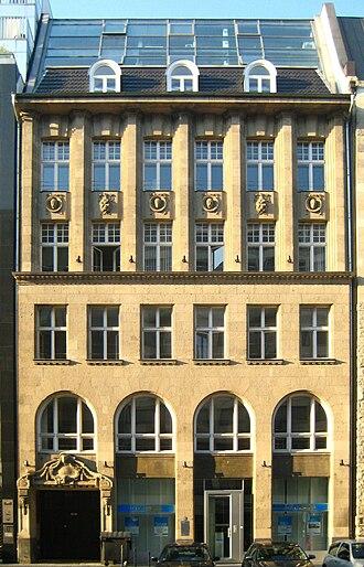 Deutsche Kreditbank - DKB building in Berlin