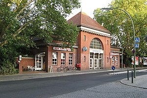 Berlin Sonnenallee station - Station entrance