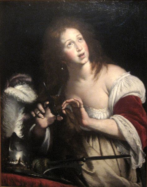 File:Bernardo Strozzi - 'Berenice -wife of Ptolemy III-', oil on canvas, c. 1640, El Paso Museum of Art.jpg