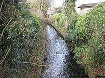 Beverley Brook in West Barnes - geograph.org.uk - 689539.jpg
