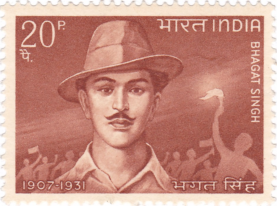 Bhagat Singh 1968 stamp of India