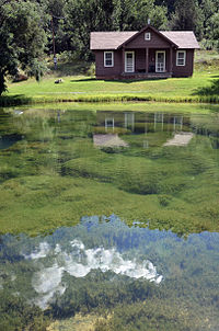 Big Springs Cabin and Pond, USFS