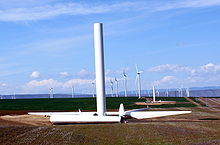Biglow Canyon Wind Farm under construction.jpg
