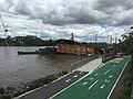 Bikeway & footpath along Brisbane River in Milton, Qld 06.JPG