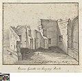 Binnengezicht van de puinen der Boeveriepoort te Brugge, circa 1778, Groeningemuseum, 0041293000.jpg