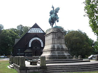 equestrian statue of Charles XV