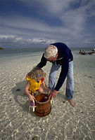 Biscayne National Park V-glass bottom bucket with grampa.jpg