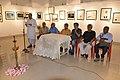 Biswatosh Sengupta Addresses - Group Exhibition Inauguration - PAD - Kolkata 2016-07-29 5237.JPG