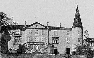 Blacé - The Château of Champrenard, in Blacé