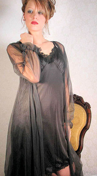 Nightwear - A woman's nightgown