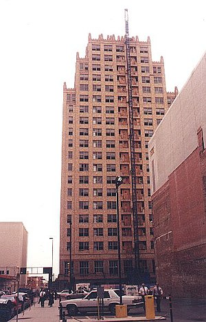 Blackstone Hotel (Fort Worth, Texas) - Restoration of the former Blackstone Hotel in 1998