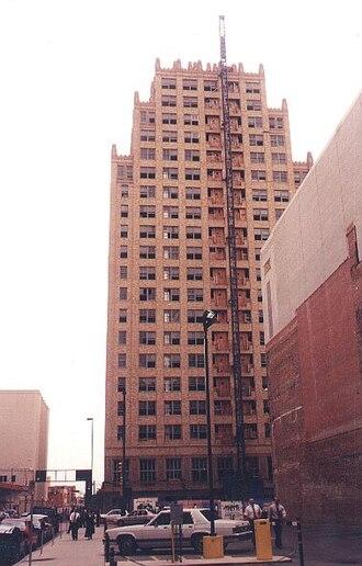 Blackstone Hotel (Fort Worth, Texas) - Restoration of the former Blackstone Hotel in 1998