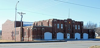 National Register of Historic Places listings in Kay County, Oklahoma - Image: Blackwell Armory
