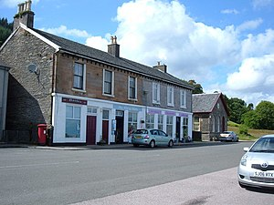 Blairmore, Argyll - Image: Blairmore Shops geograph.org.uk 864859