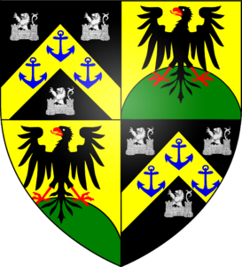 Blazon of the Castelyn family of London.png