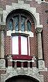 Blekerssingel 15 & 16 in Gouda (4) Raam in Jugendstil.jpg