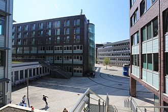 Hamburg University of Technology - Inside view of the TUHH Campus
