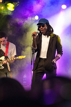 Dev Hynes - Hynes performing as Blood Orange at Way Out West in Gothenburg, Sweden, August 2014