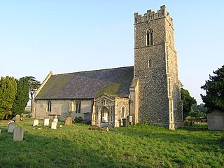 Blyford village and civil parish in the Waveney district of Suffolk, England